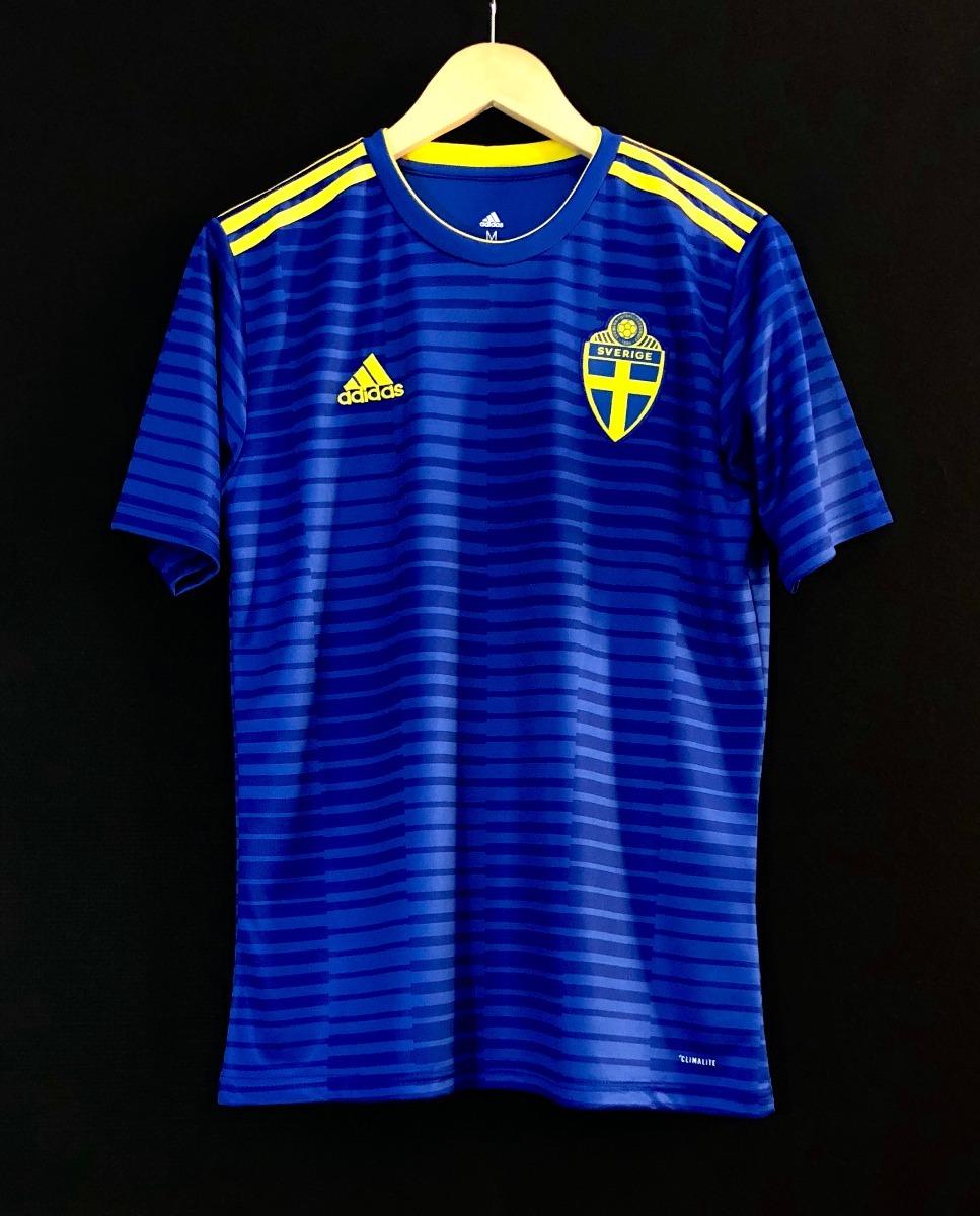 camisa adidas seleção suecia 2018 oficial copa do mundo. Carregando zoom. e1adaf818187f