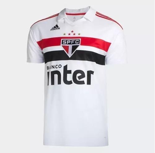 Camisa adidas São Paulo Lançamento 2018 Oficial 40% Off - R  119 d7df2ec4c83cf