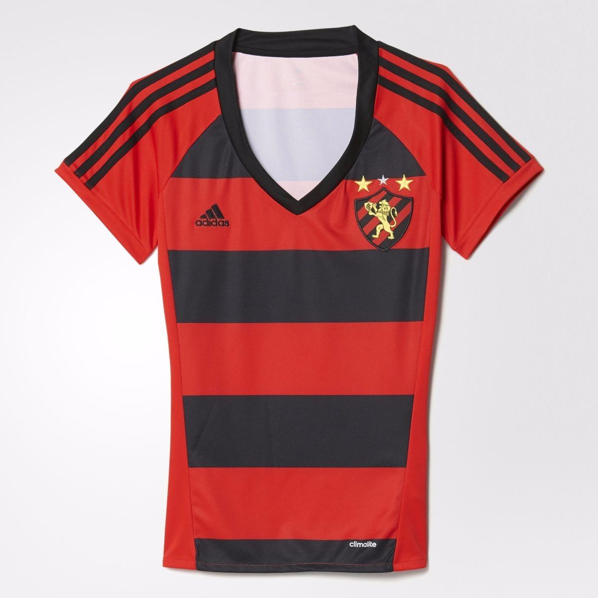 631251aa8d camisa adidas sport recife 1 feminina tam. gg. Carregando zoom.