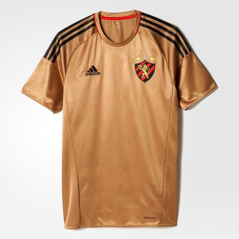 4e45446b2e camisa adidas sport recife 2016 3 iii - dourada - original. Carregando zoom.