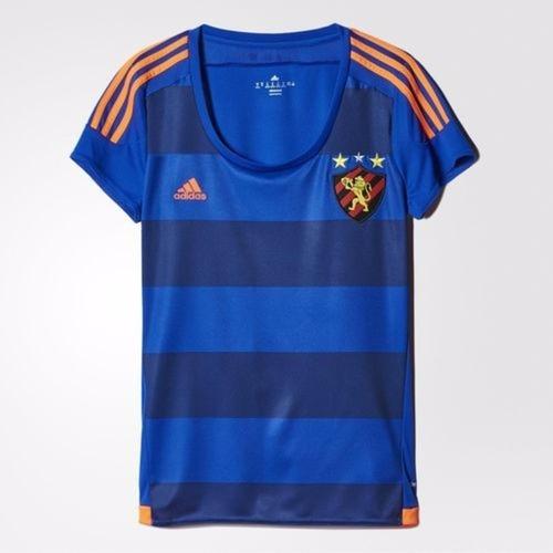 camisa adidas sport recife iii 2015 feminina tam. gg