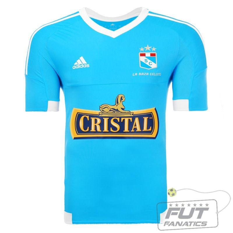 camisa adidas sporting cristal home 2015 - futfanatics. Carregando zoom. b718fbef79cbc