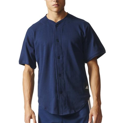 camisa adidas training dugout shirt hombre mn