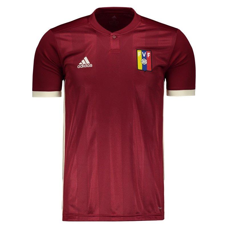 a4e920f770c Camisa adidas Venezuela Home 2018 - R  249
