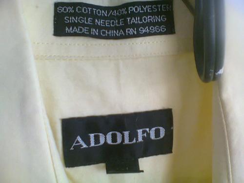 camisa adolfo caballero  t-36/37