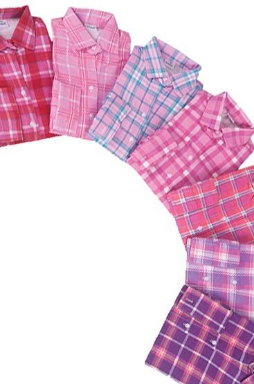 f6e9974cf467c Camisa Adulto Feminina Country Junina Xadrez + 1 Infantil - R  139 ...