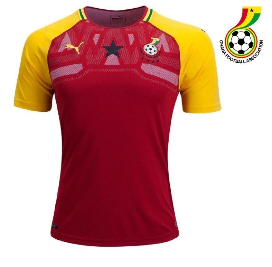 camisa adulto futebol seleção de gana oficial 2018. Carregando zoom. 22c969225a16d