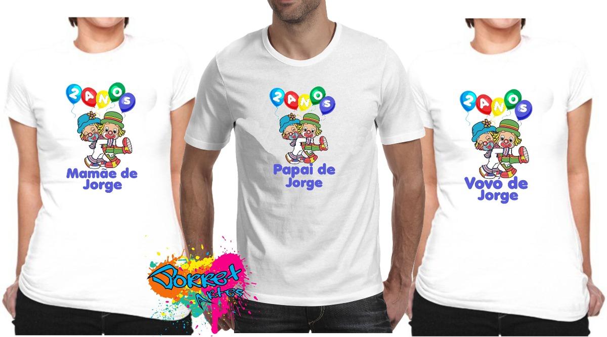 93b482e56 camisa adulto personalizada qualquer tema para festa 3 pçs. Carregando zoom.