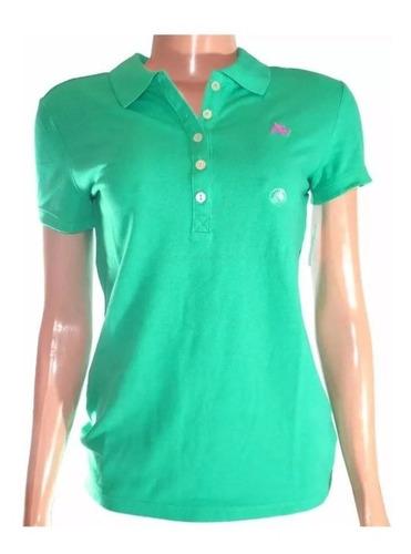 camisa aeropostale feminina verde original
