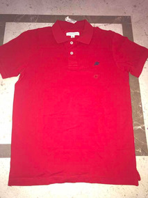 3868a0da Camisa Aeropostale Hombre Talla M/l Color Rojo Tipo Polo