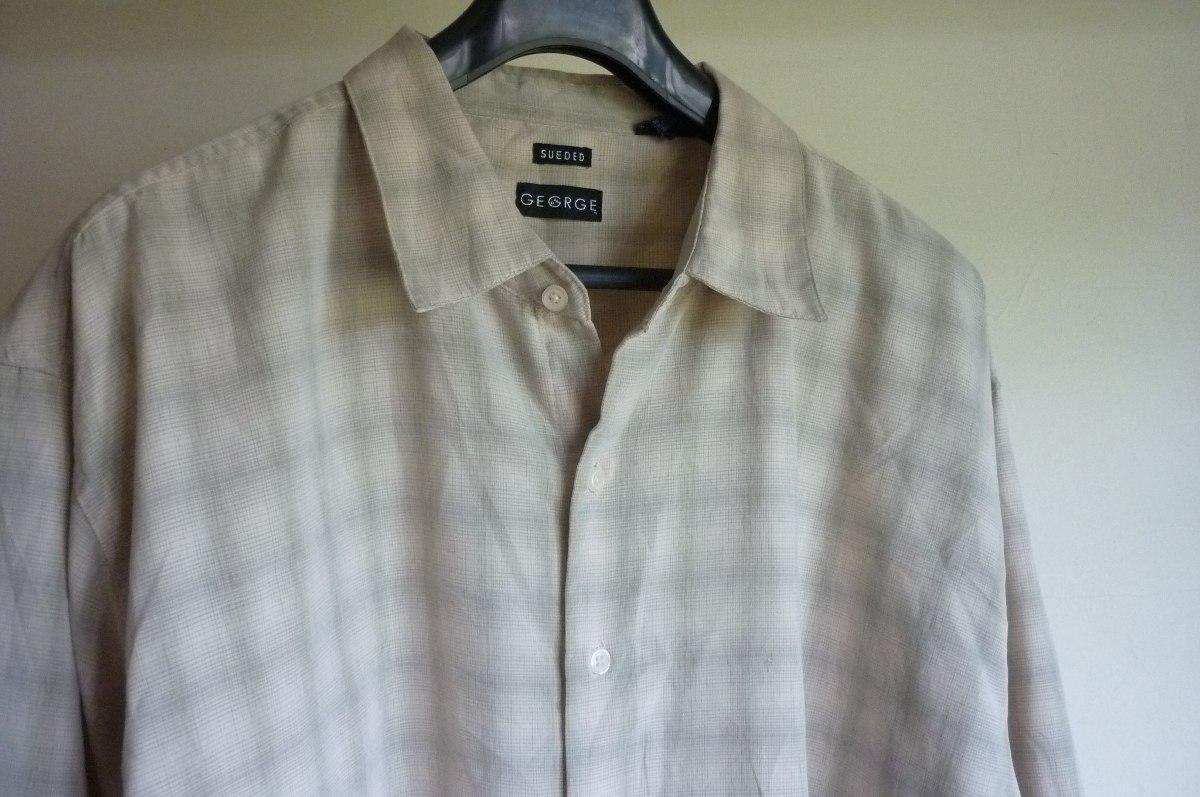 como escoger minorista online fuerte embalaje Camisa Afranelada George Talla Xxl Hombre - $ 12.000
