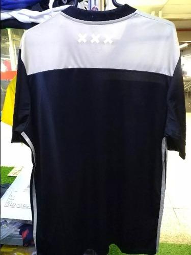 camisa ajax home 18/19 s/n masculina