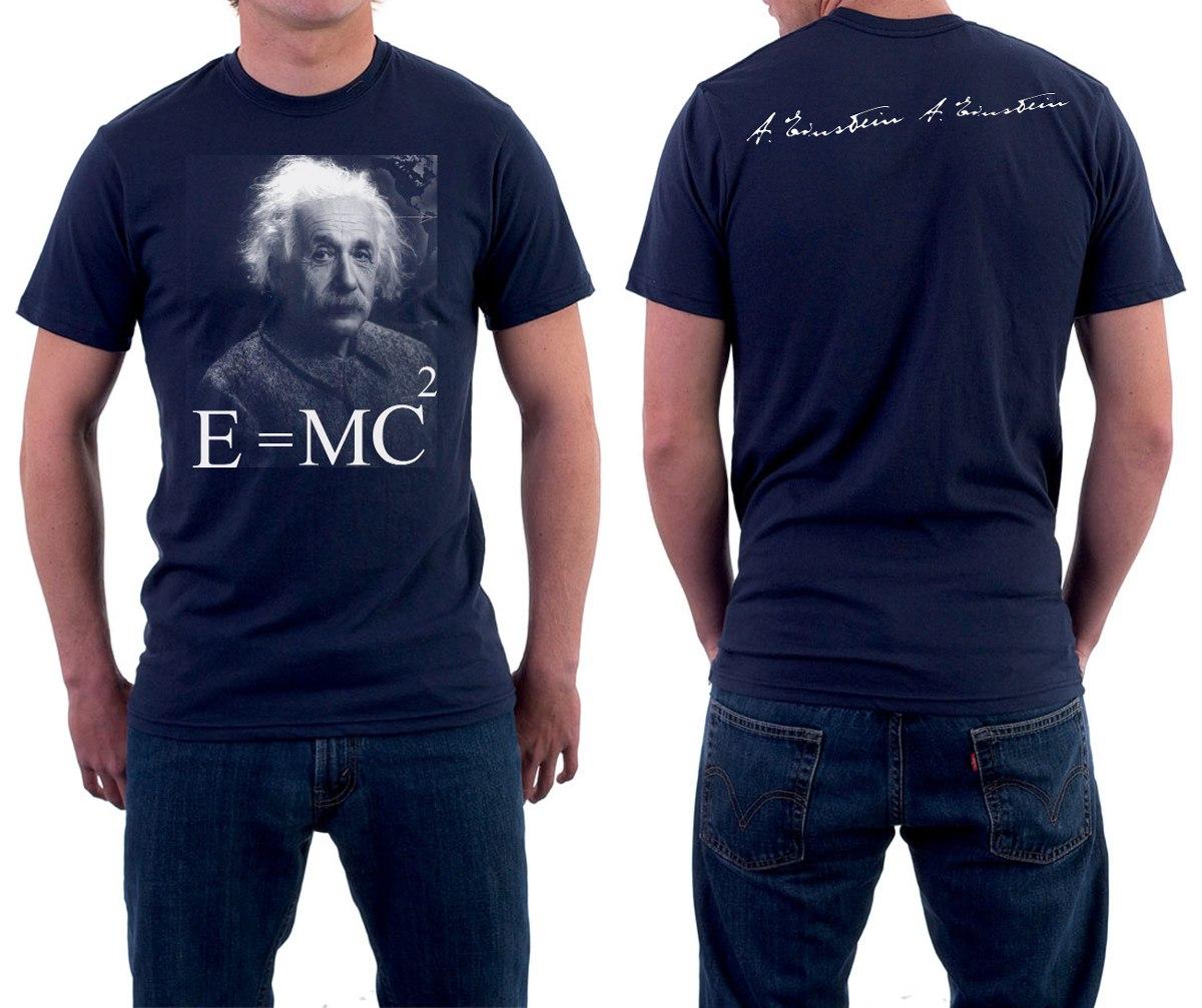 1d385fc69 Camisa Albert Einstein - Camiseta Einstein 100%algodão - R  30