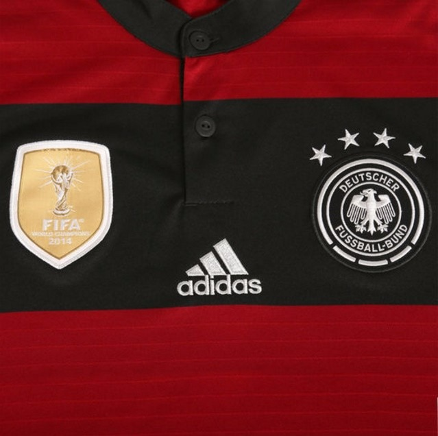 074389fe8a315 Camisa Alemanha 2 - Tetracampeã Mundial  Rubro Negra - R  149