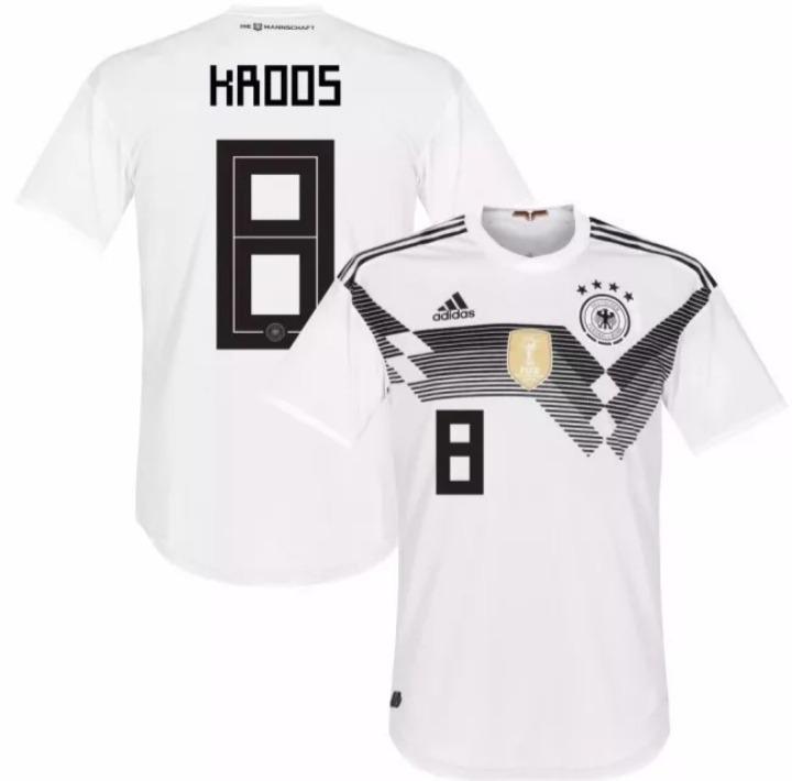 Camisa Alemanha 2018 Kroos - Copa Do Mundo 2018 - R  109 cc4600c4909fc