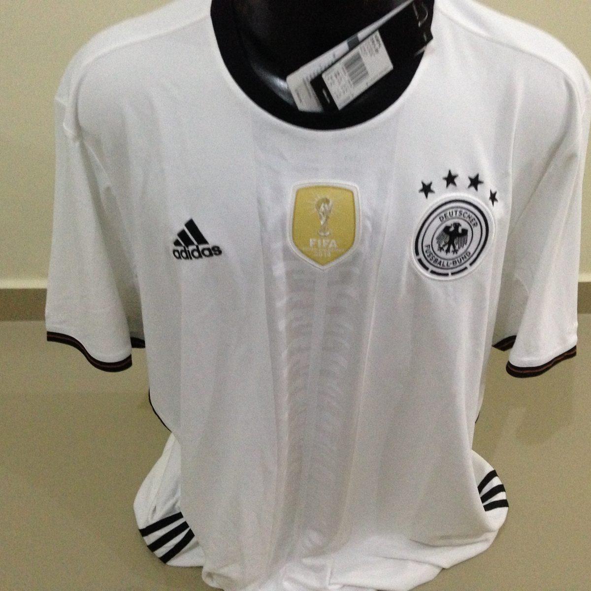 Camisa Alemanha adidas - Tamanho  Gggg - R  120 c4e7e53601824
