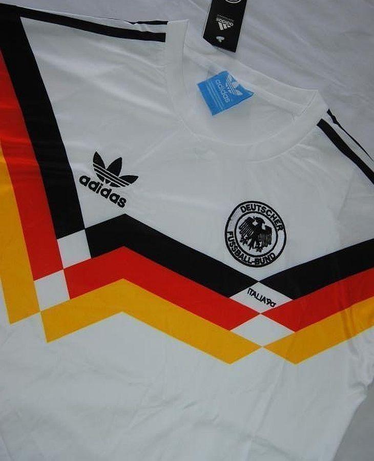 Camisa Alemanha 1990 Retrô Copa 90 Alemã Pronta Entrega - R  149 d261762dcb438