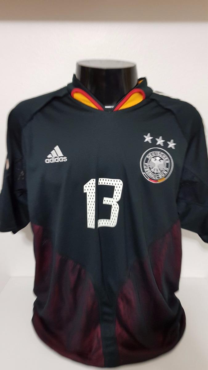 camisa alemanha away 04-05 ballack 13 patch euro 2004 imp. Carregando zoom. 0d44fdd7e0e86