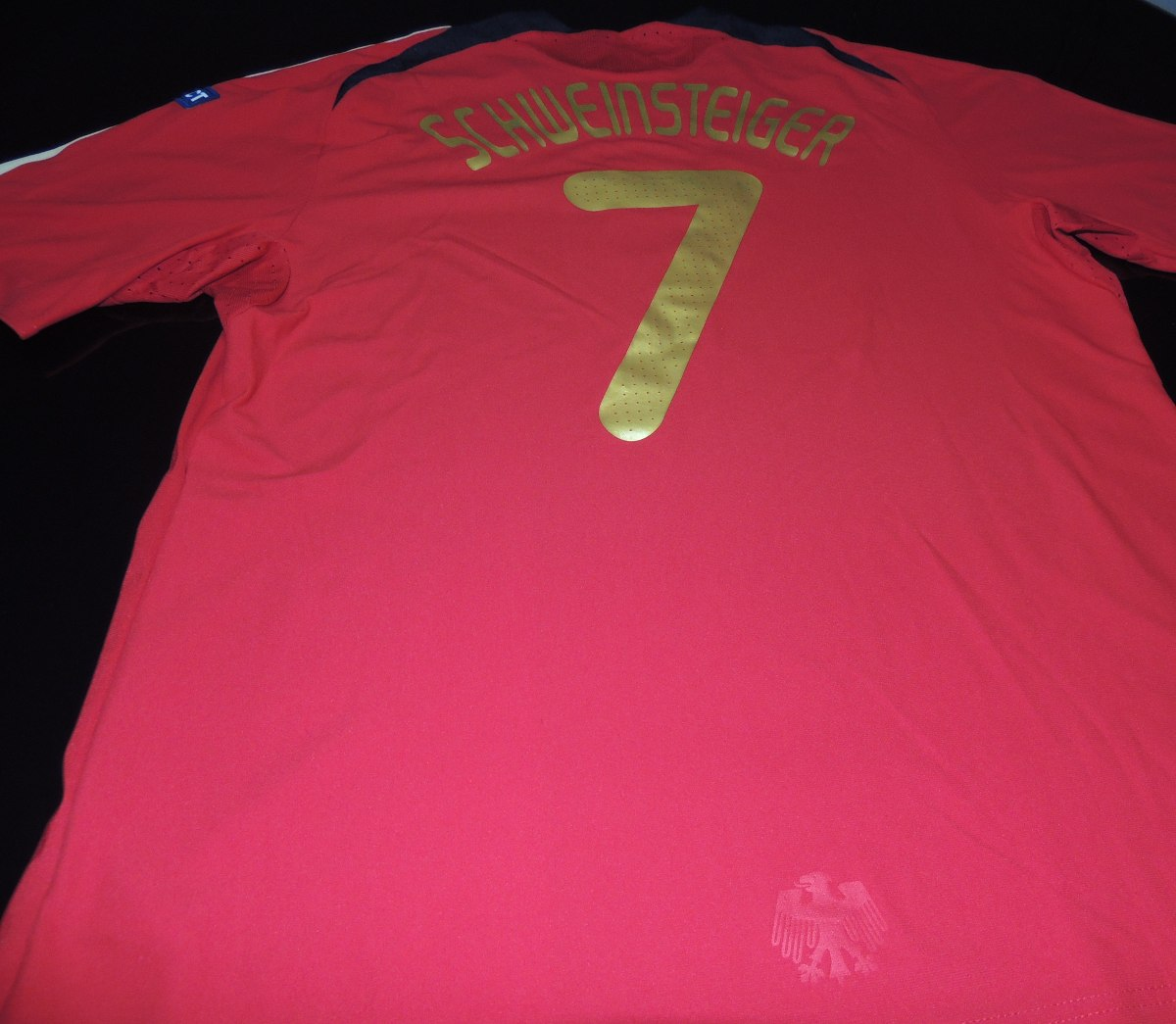 812dff460a camisa alemanha away euro 2008  7 schweinsteiger tam. gg. Carregando zoom.