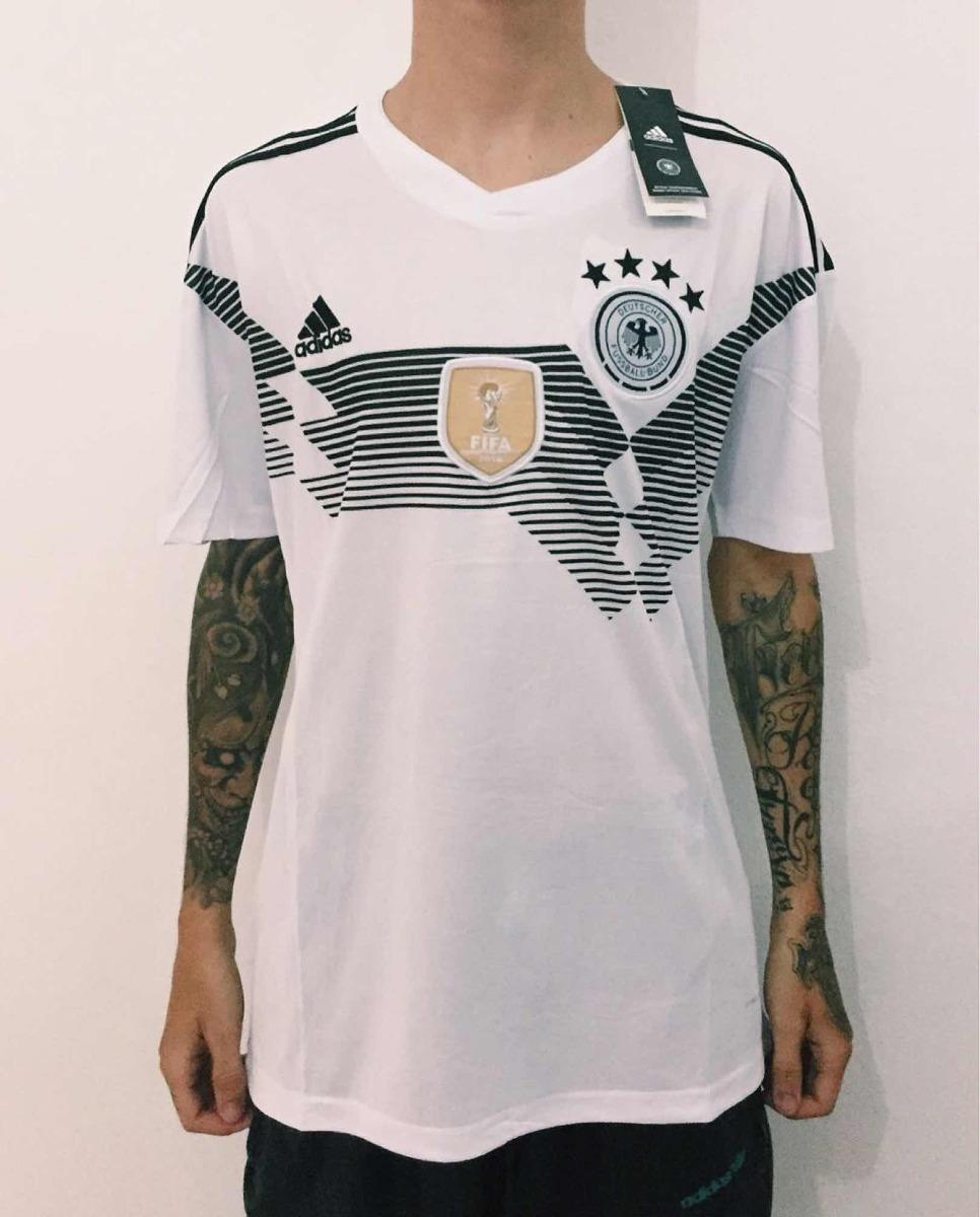 camisa alemanha branca adidas seleção copa 2018 torcedor. Carregando zoom. d9d8c3a58164e
