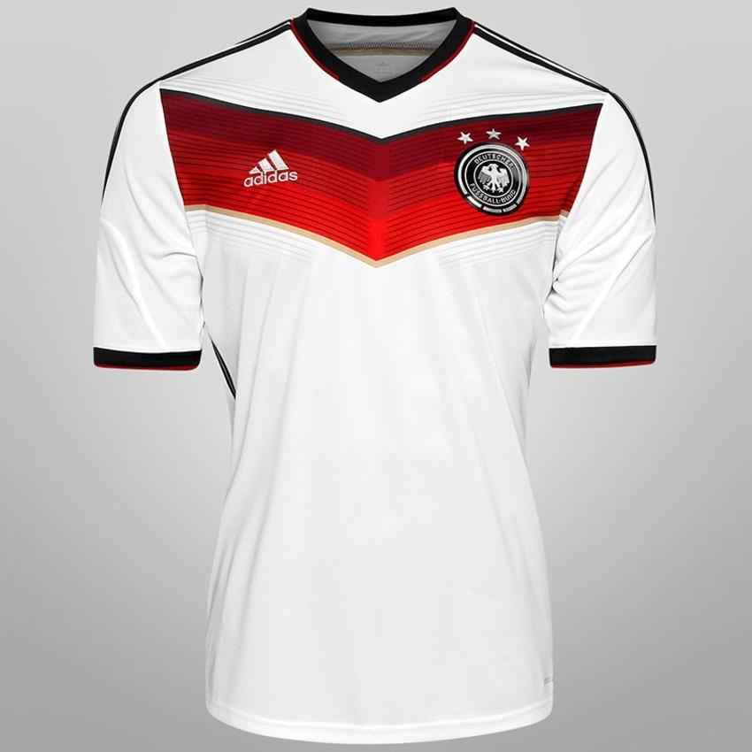 Camisa Alemanha Branca Copa 2014(todos Os Jogadores) - R  299 627e6299767a1