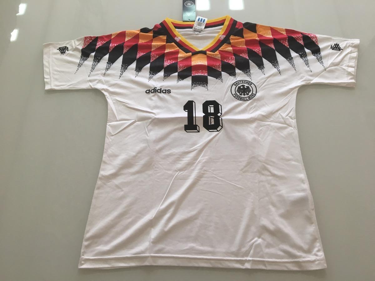 186aa519a camisa alemanha - copa 1994 -  18 klinsmann - pronta entrega. Carregando  zoom.