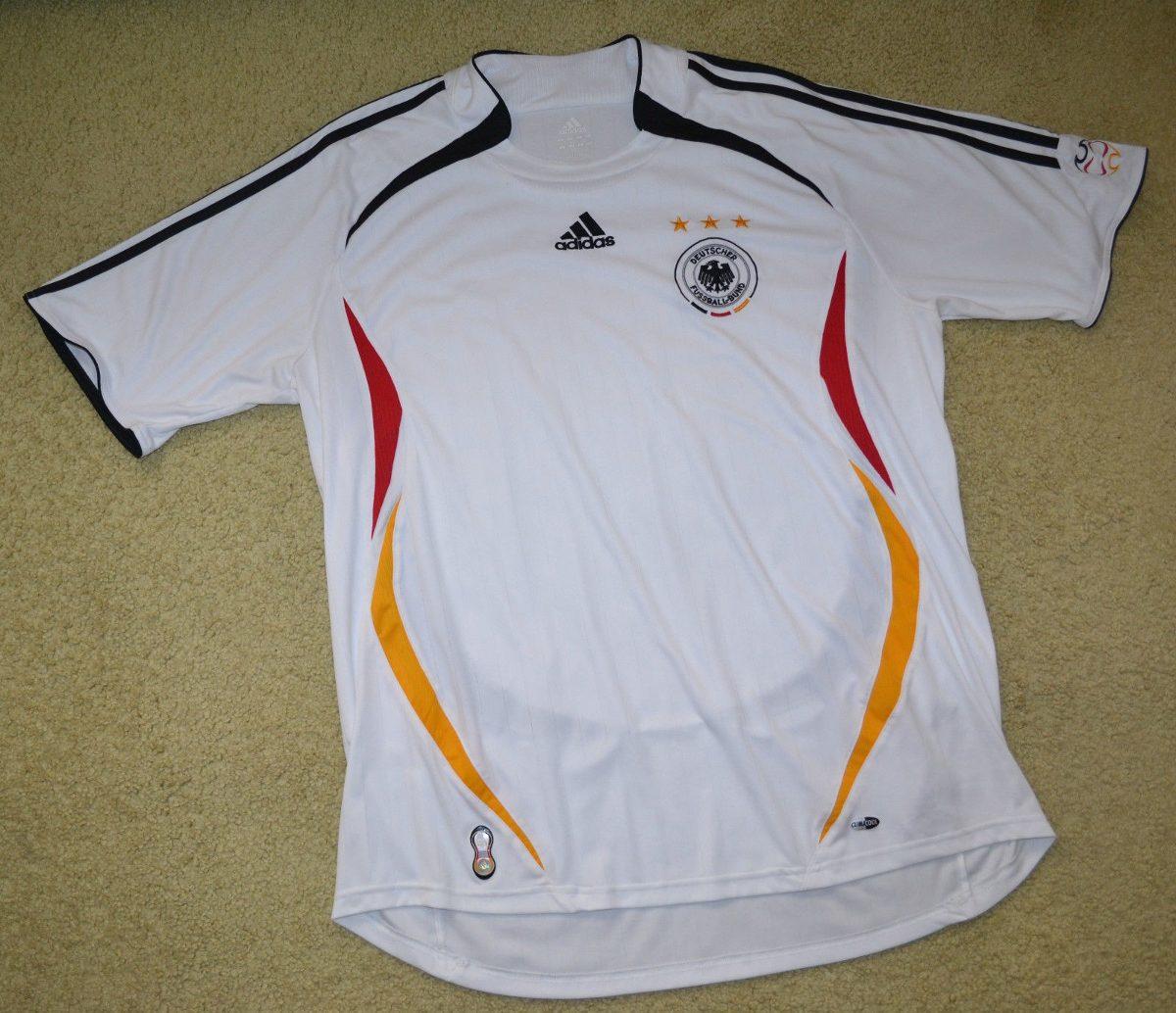 camisa alemanha copa 2006 adidas estado de nova. Carregando zoom. 03c9e01648eee