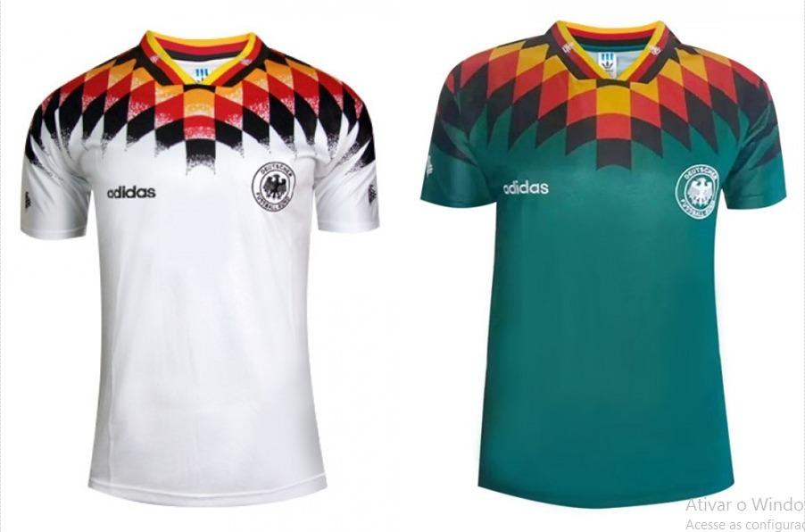 Camisa Alemanha - Copa Do Mundo 1994 - Pronta Entrega - R  199 d74f134403394