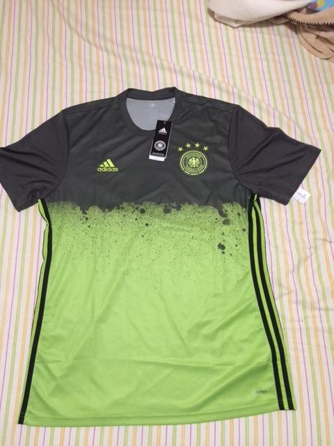 Camisa Alemanha Euro 2016 Treino Prejogo Verde adidas Tags - R ... fc83849756394