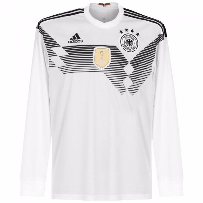 Camisa Alemanha Home 18-19 Manga Longa Importada - R  140 8e311d5bd9054