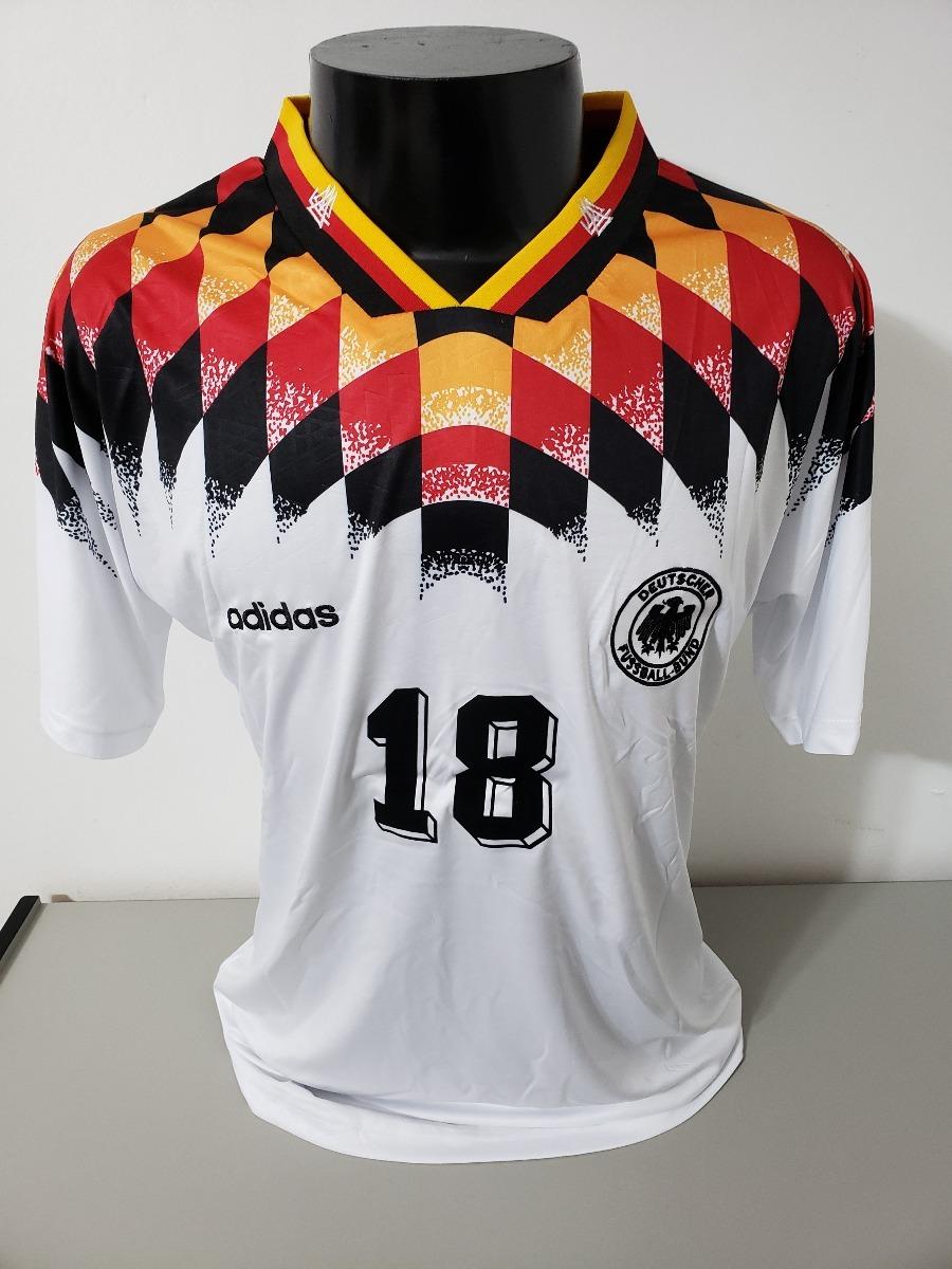 c04d53e11 camisa alemanha home 94-95 klinsmann 18 importada. Carregando zoom.