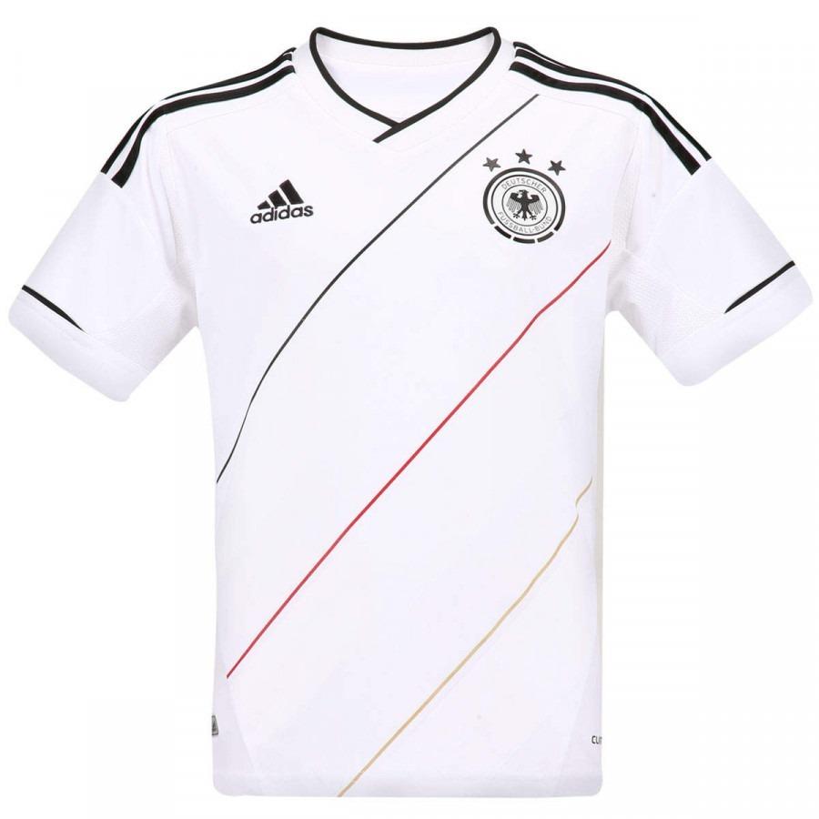 dfeb1cb439 camisa alemanha infantil eurocopa 2012 branca. Carregando zoom.
