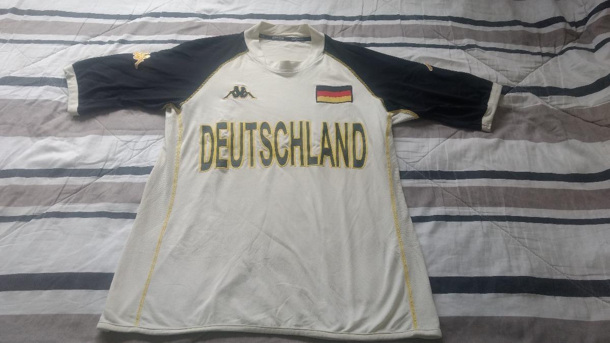 Camisa Alemanha - Kappa - Branca - Tam. M. - R  60 e3f301fd3103e