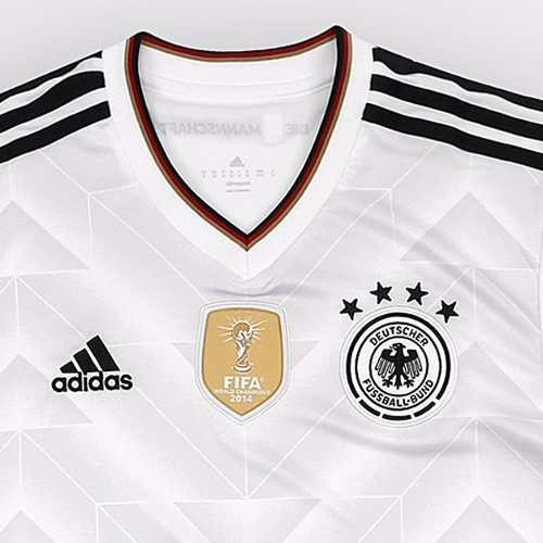 Camisa Alemanha Oficial Original Adizero Fifa - R  110 a5c976d012a74