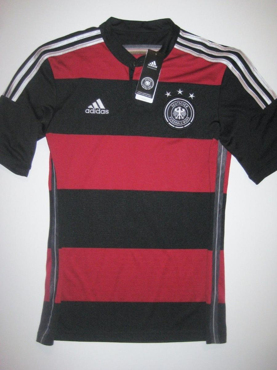 867f59e8b2d4c Camisa Alemanha Preta vermelha Copa 2014(todos Os Jogadores) - R ...