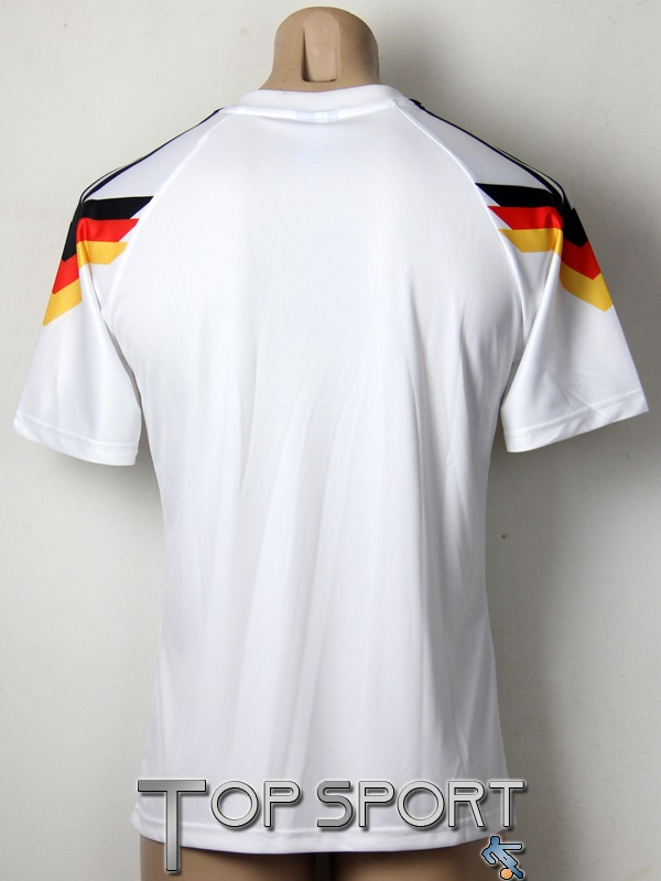 camisa alemanha retro home copa 1990 - envio imediato. Carregando zoom. 057ad96adba42