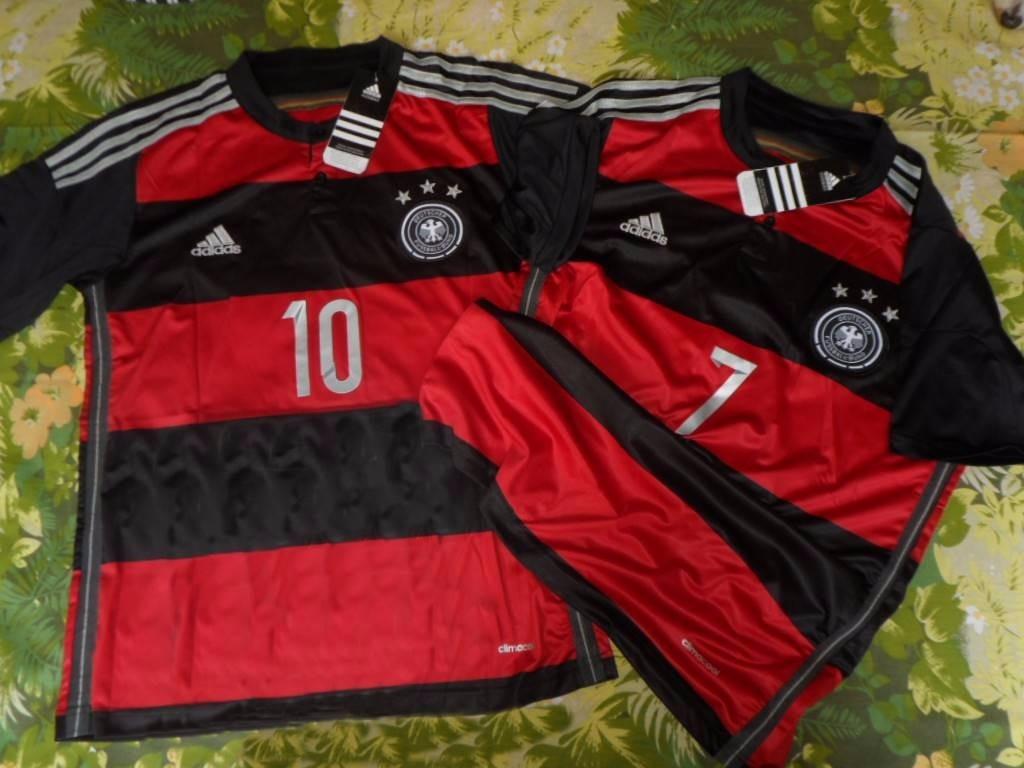 ec147c89e1473 Camisa Alemanha Rubronegra 2014 Numerada - R  79