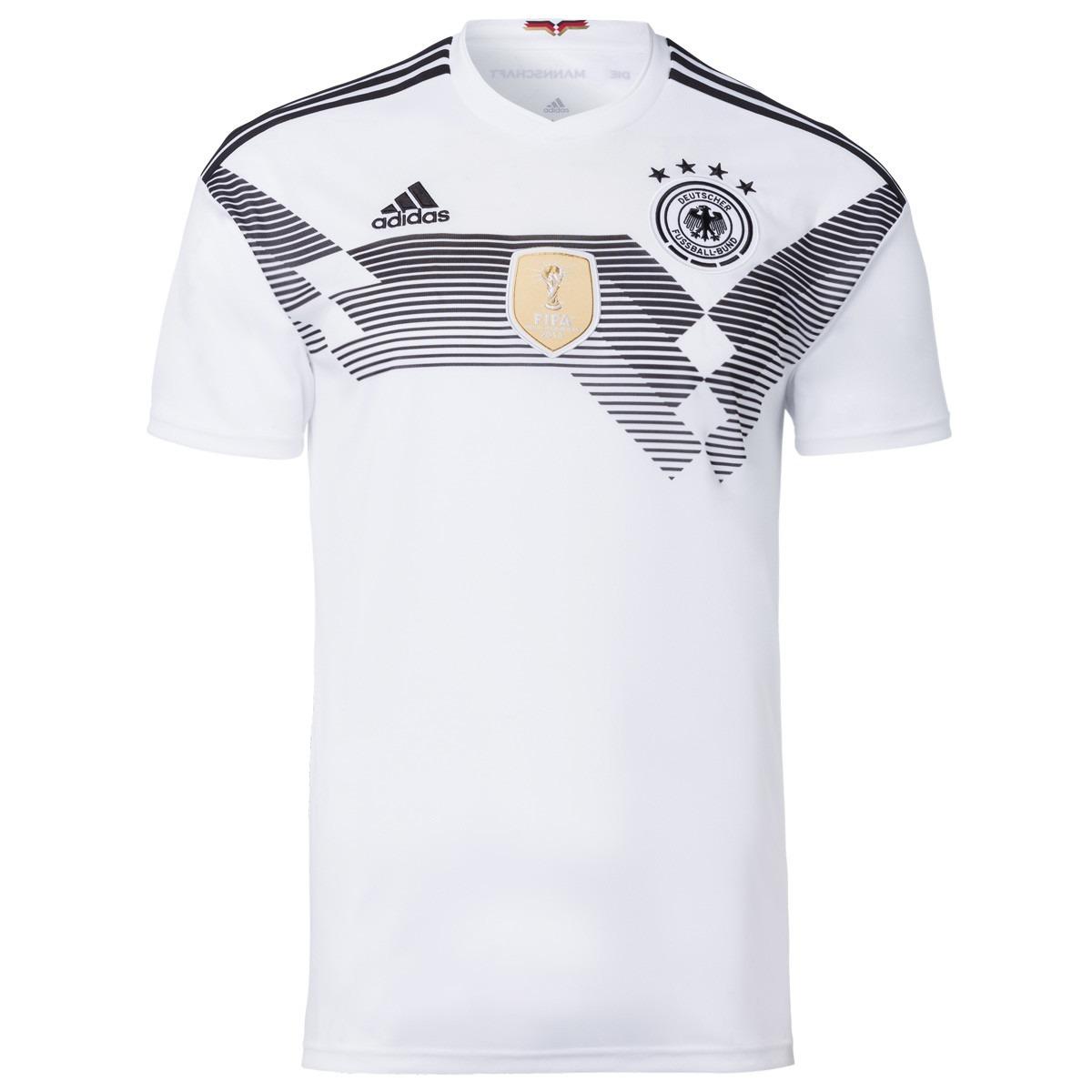Camisa Da Alemanha Original Seleção Alemã Branca Nova Frete - R  135 ... da35610bb6315