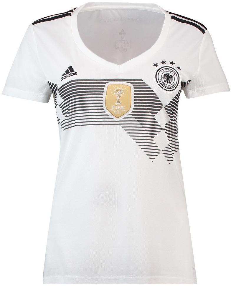 camisa alemanha uniforme 1 feminina 2018 2019 frete grátis. Carregando zoom. 03a6352011b63