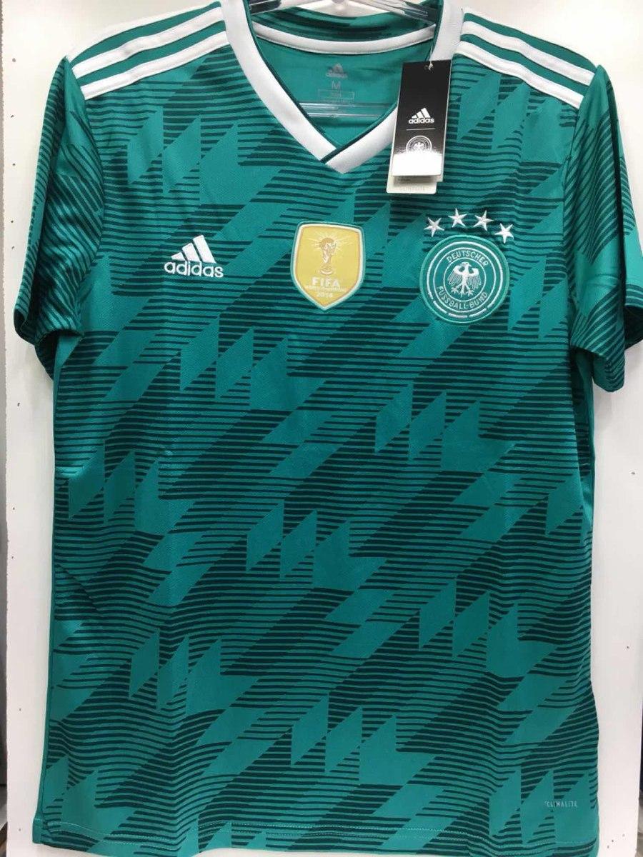 ... camisa alemanha verde detalhad adidas oficial copa 2018 nova. Carregando  zoom. 2224b2d87f2a3