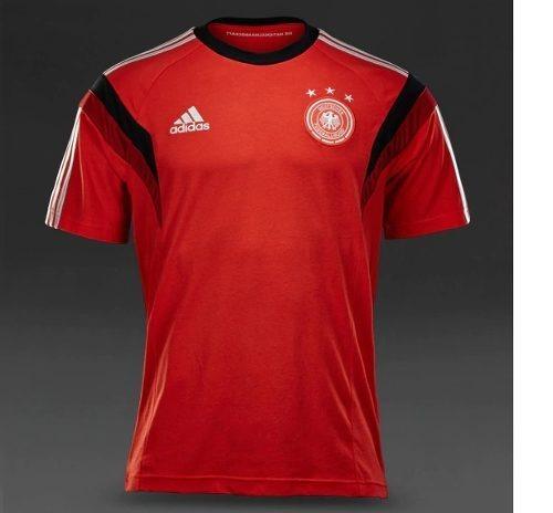 8852221216e13 Camisa Alemanha Vermelha - Tamanho P - R  99