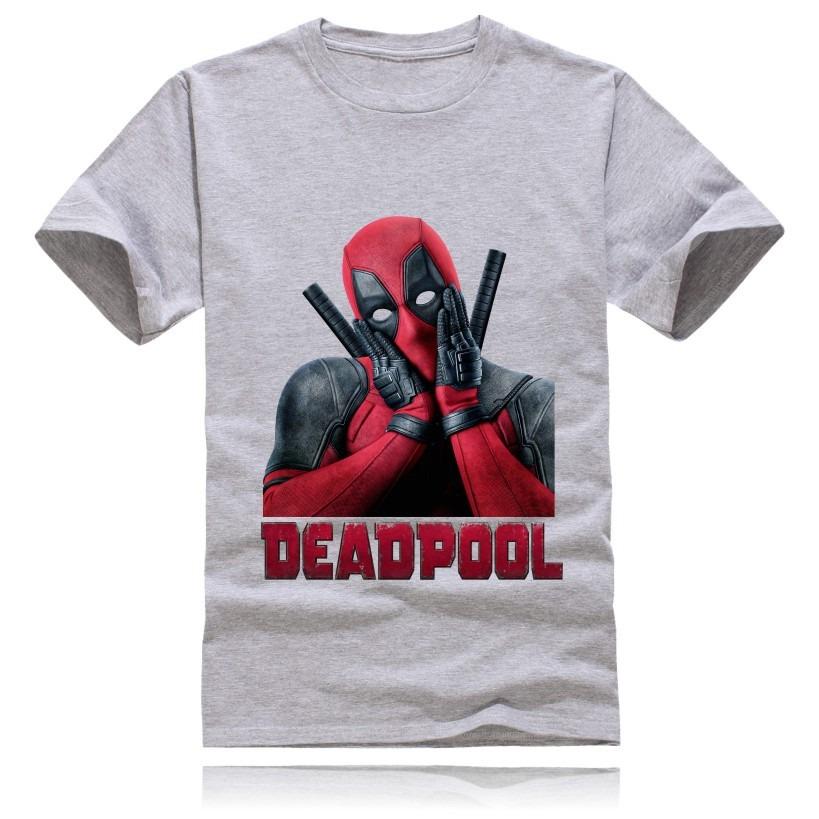 61e4f81f8 Camisa Algodão Transfer Deadpool Marvel Camiseta Manga Curta - R  65 ...