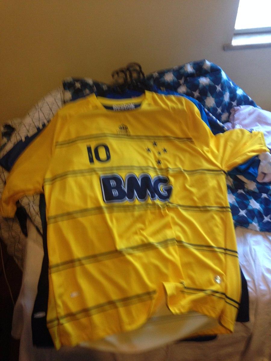 camisa amarela do cruzeiro 2010. Carregando zoom. 2656382a3c731