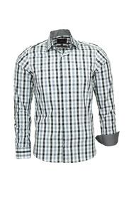 2d31c1c6b3 Camisa Social Masculina Xadrez Grossa Manga Longa 21 Modelos ...