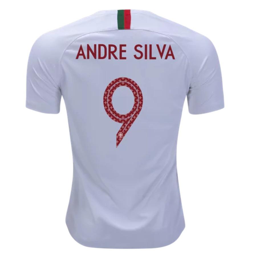 89e683a78b Camisa Andre Silva 9 Portugal Copa Mundo 2018   Frete Gratis - R ...