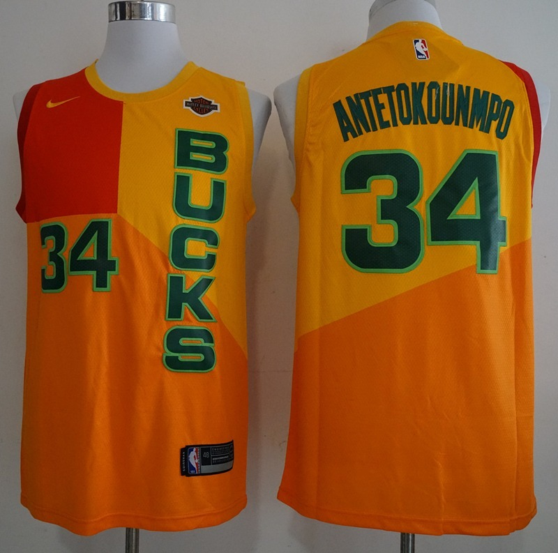 2b8dd57ef Camisa Antetokounmpo Milwaukee Bucks Nova - Frete Gratis - R  180