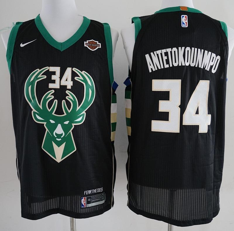 002a85c39 Camisa Antetokounmpo Milwaukee Bucks Original - Frete Gratis - R ...
