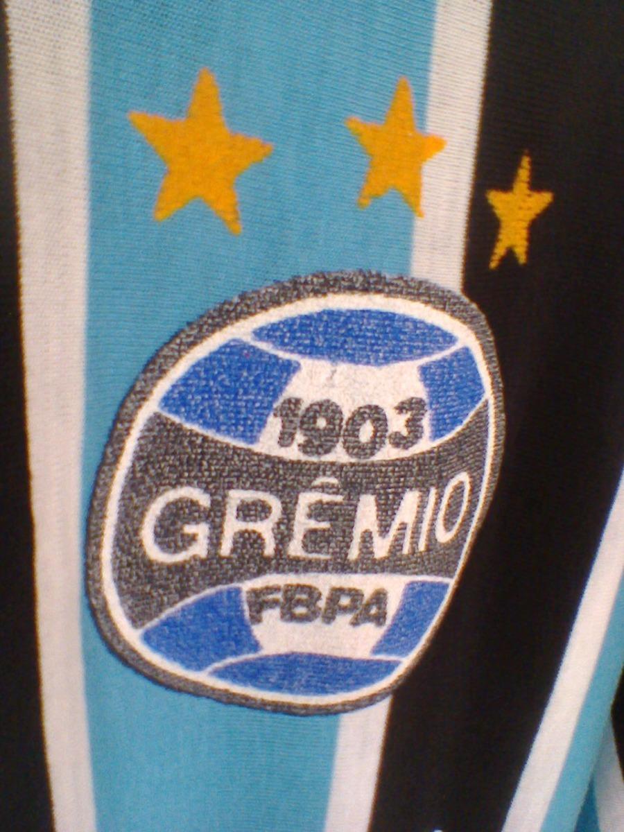 camisa antiga do grêmio anos 80. Carregando zoom. a422e2ef98591