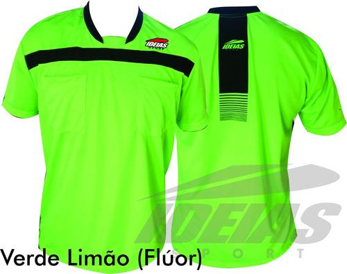 camisa arbitro de futebol juiz futebol arbitragem esporte