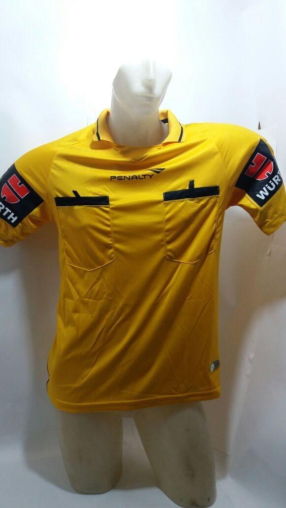 Camisa Arbitro Juiz Oficial Penalty Tam. P-m-g - R  69 b3588f9aaf56c